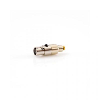 Adaptateur DPA DAD6021 - MicroDot à TA5F pour Audio-Technica ATWU-101 et transmetteur Lectrosonics