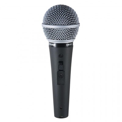 Microphone avec interrupteur marche/arrêt Shure SM48S-LC